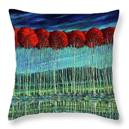 Harmonious Echo - Throw Pillow