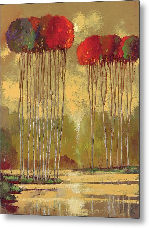 Indian Summer - Metal Print