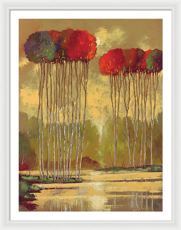 Indian Summer - Framed Print