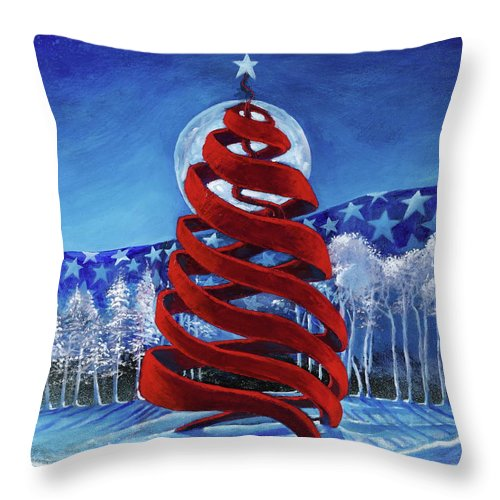 Let Freedom Ring - Throw Pillow