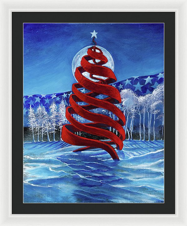 Let Freedom Ring - Framed Print