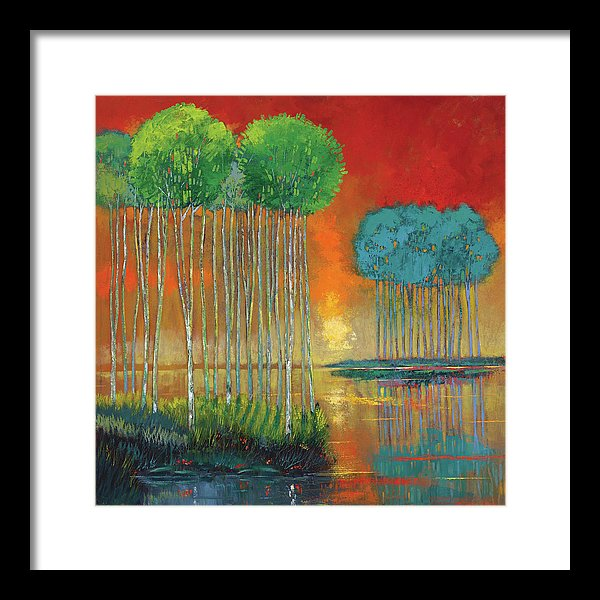 Lingering Twilight - Framed Print