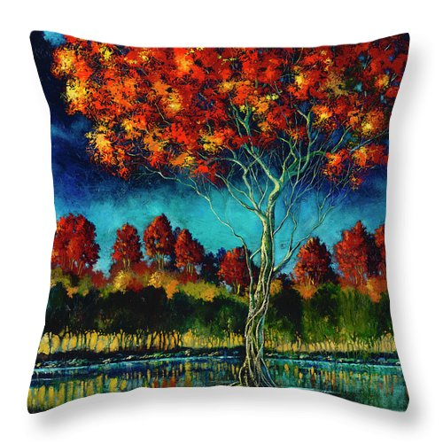 Living Free - Throw Pillow