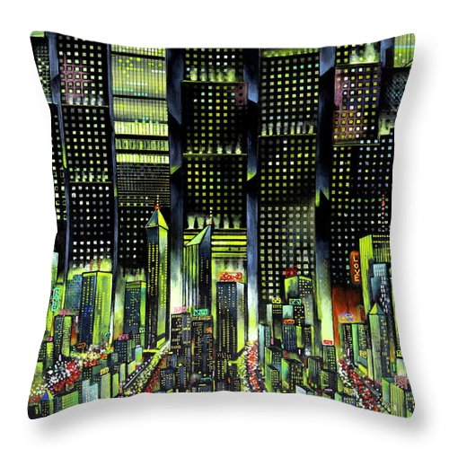Lovin' The City - Throw Pillow