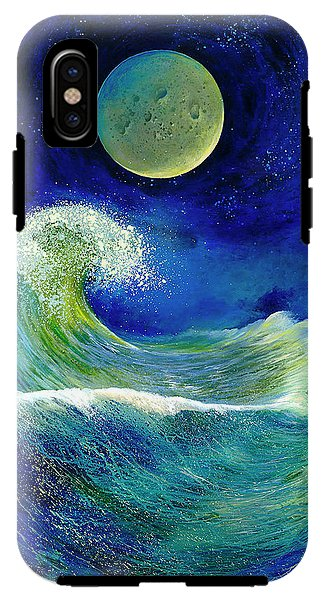 Lunar Reaction - Phone Case