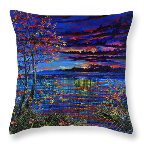 Lyrical Passage - Throw Pillow