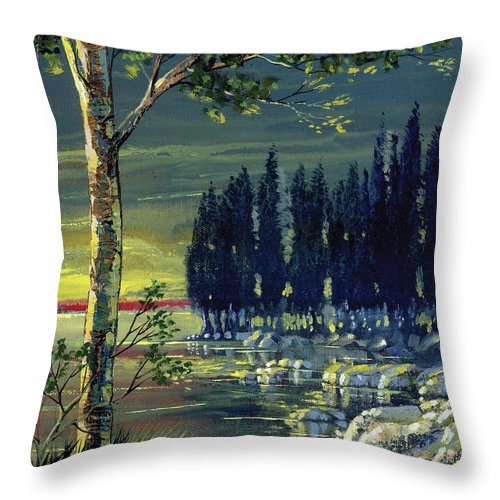Majestic Calm - Throw Pillow