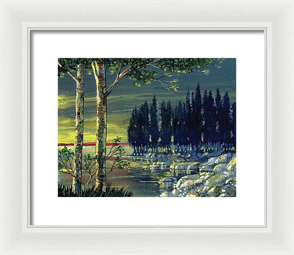 Majestic Calm - Framed Print