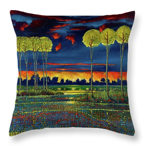 Mindful Journey - Throw Pillow