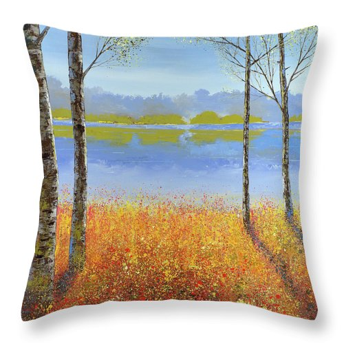 Open Invitation - Throw Pillow