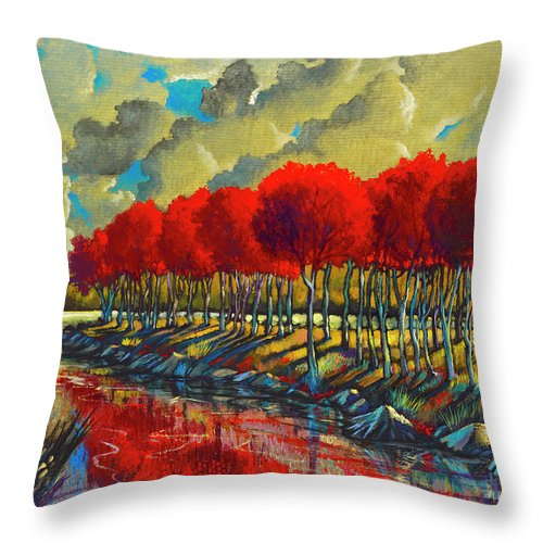 Opposing Passions - Throw Pillow