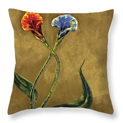 Opposites Attract - Throw Pillow