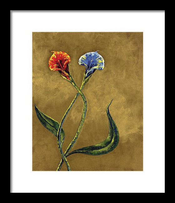 Opposites Attract - Framed Print