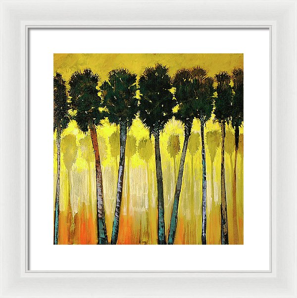 Palm Friendly - Framed Print