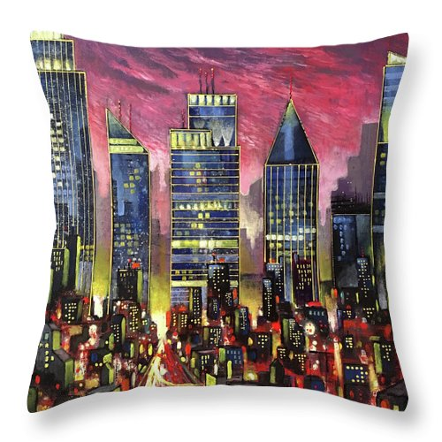 Party 'til Dawn - Throw Pillow
