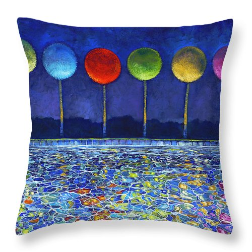 Pool Of Thoughts - Throw Pillow