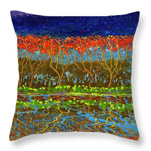 Positive Spin - Throw Pillow