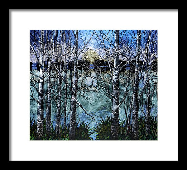 Prismatic Dusk - Framed Print