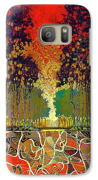 Quilted Fire - Phone Case