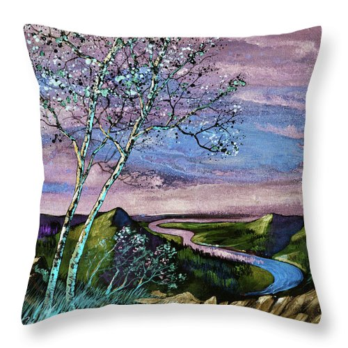 Remembering When - Throw Pillow