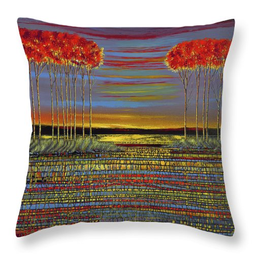 Reminiscing - Throw Pillow
