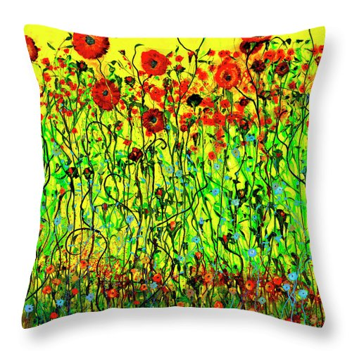 Rendezvous With Nature - Throw Pillow