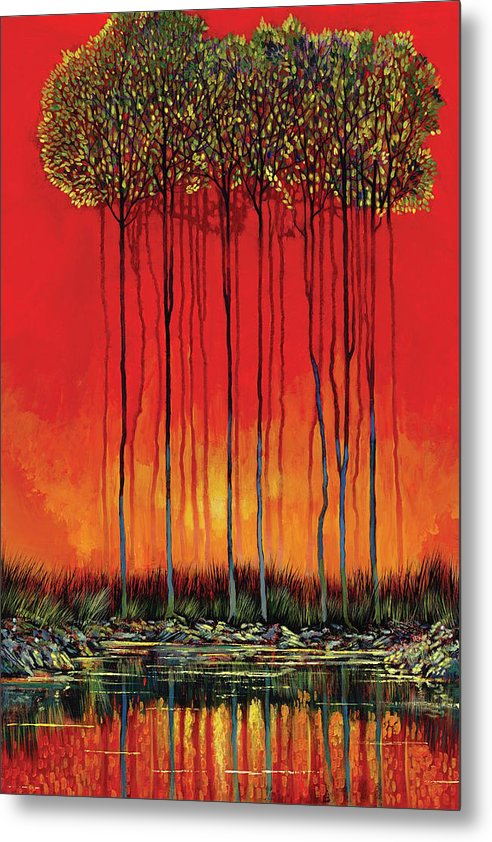Sanguine Dream - Metal Print