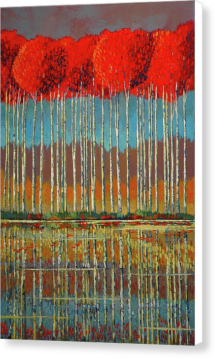 Scarlet Approach - Canvas Print