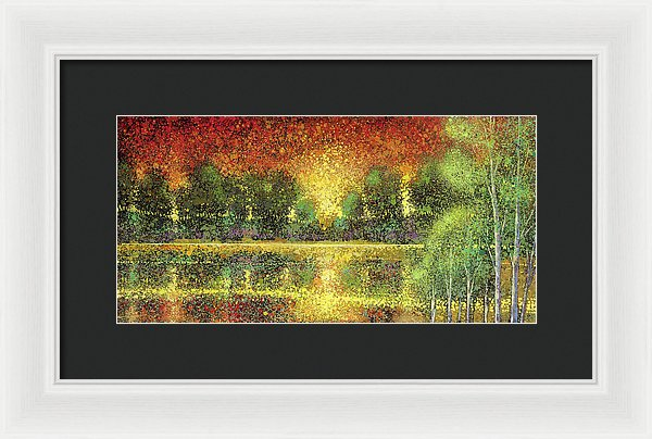 Sizzling Seclusion - Framed Print