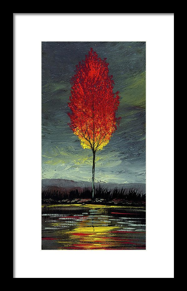 Soul Search - Framed Print