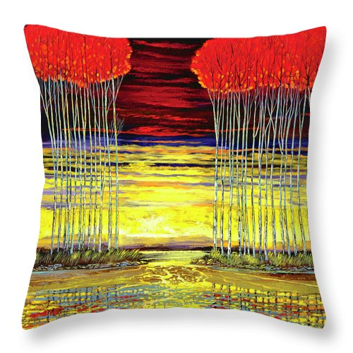 Spontaneous Attraction - Throw Pillow
