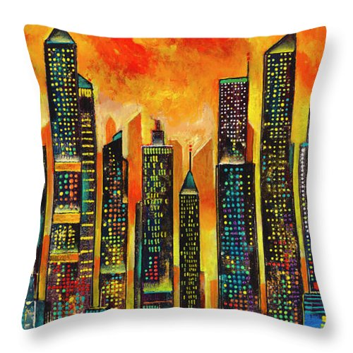 Street Hustle - Throw Pillow