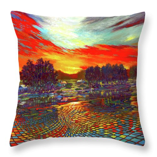Sundown Montage - Throw Pillow