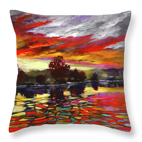 Sunlight Hide - Throw Pillow