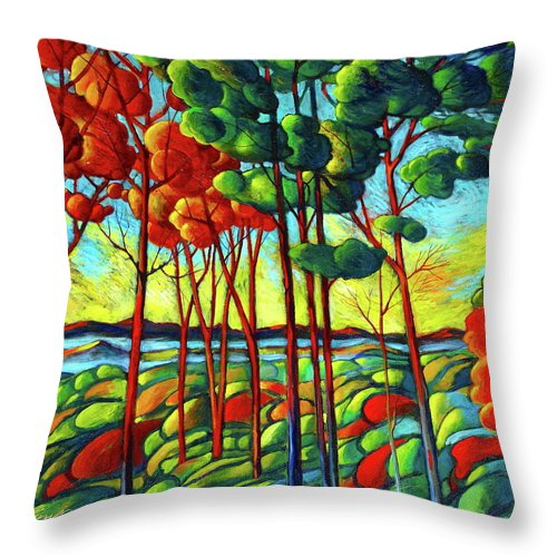 The View - Throw Pillow
