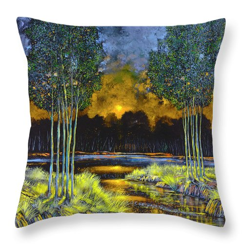 Twilgiht Surrender - Throw Pillow