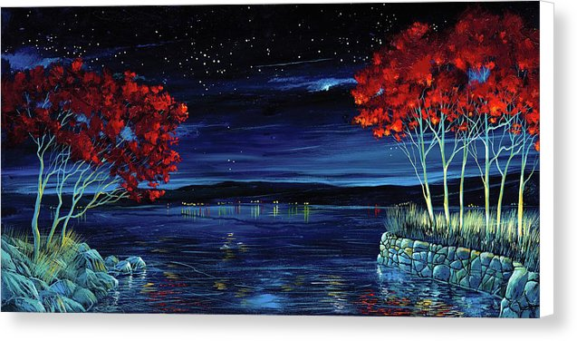 Twilight Envy - Canvas Print