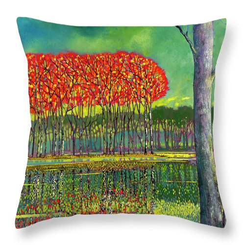Vivid Imagination - Throw Pillow