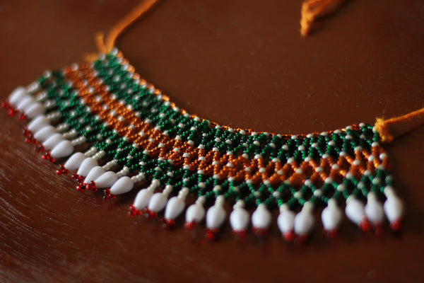 Harikala Tribal Bead Necklace / Choker