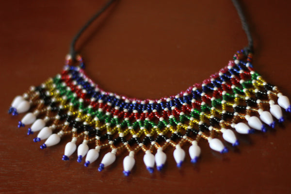 Dharti Tribal Bead Necklace / Choker