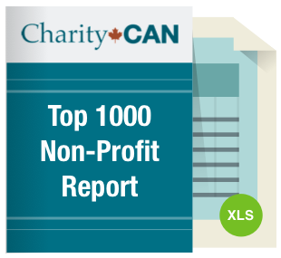 Top 1000 non-profit (registered charity) Organizations Reports