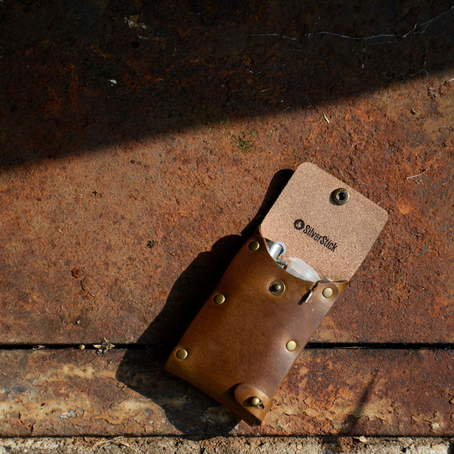 russet brown horween leather dugout