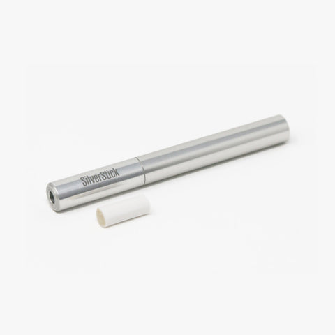 SilverStick Slim one hitter pipe with a filter (40771715096)