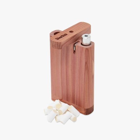aromatic cedar wood dugout for one hitter