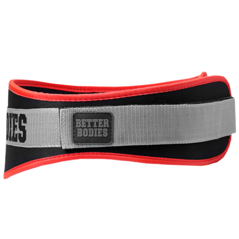 BETTERBODIES - BASIC GYM BELT ĐỎ - Muscle UP