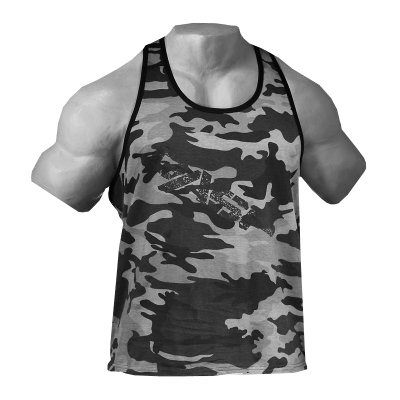 Vintage T-Back 220446 (camo) - Muscle UP