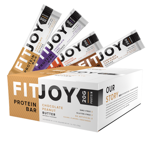 FITJOY PROTEIN BAR (60G x 12 BARS) - Muscle UP