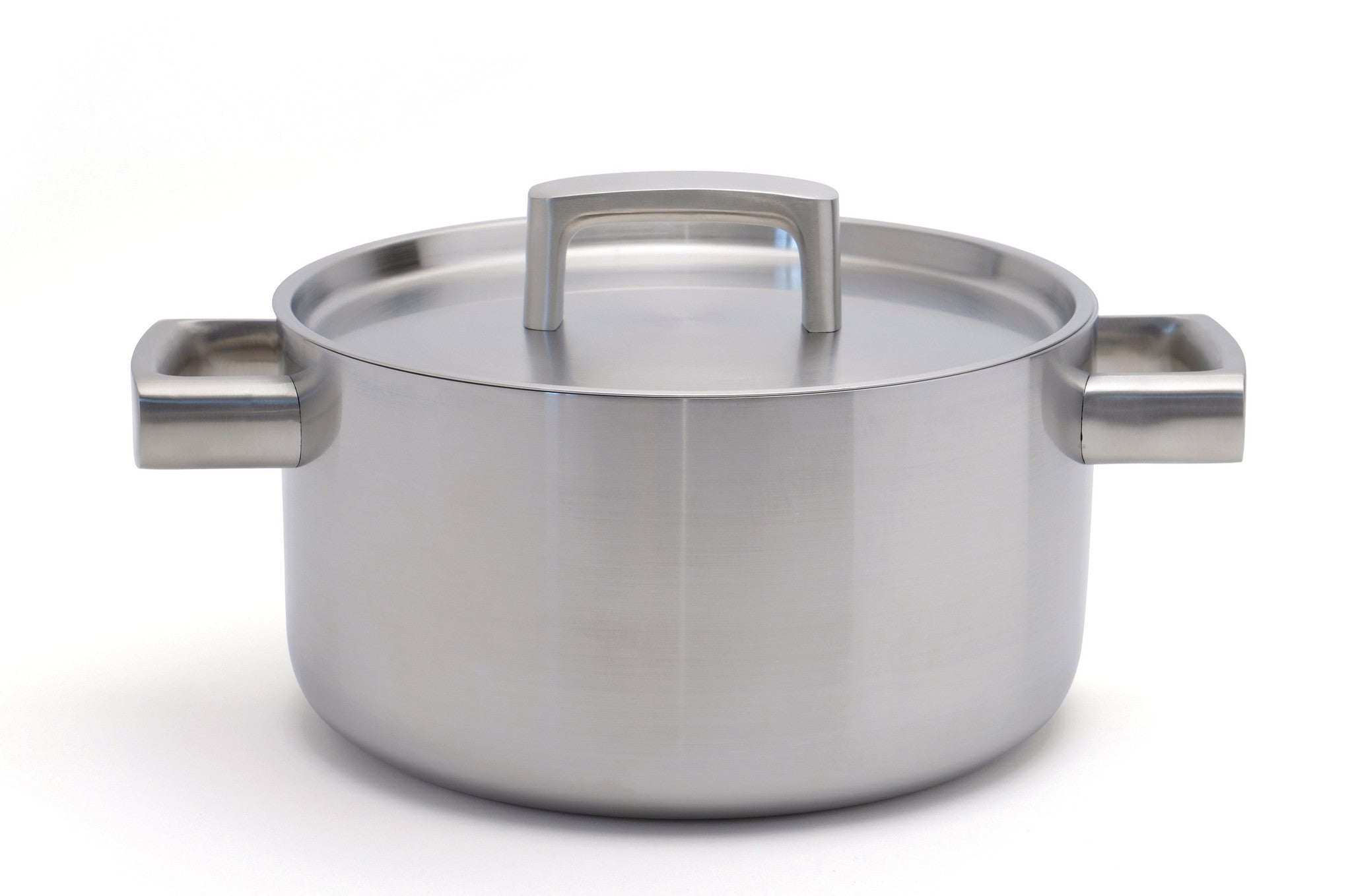 Ron 5-ply 22cm Stainless Steel Casserole Pan with Lid