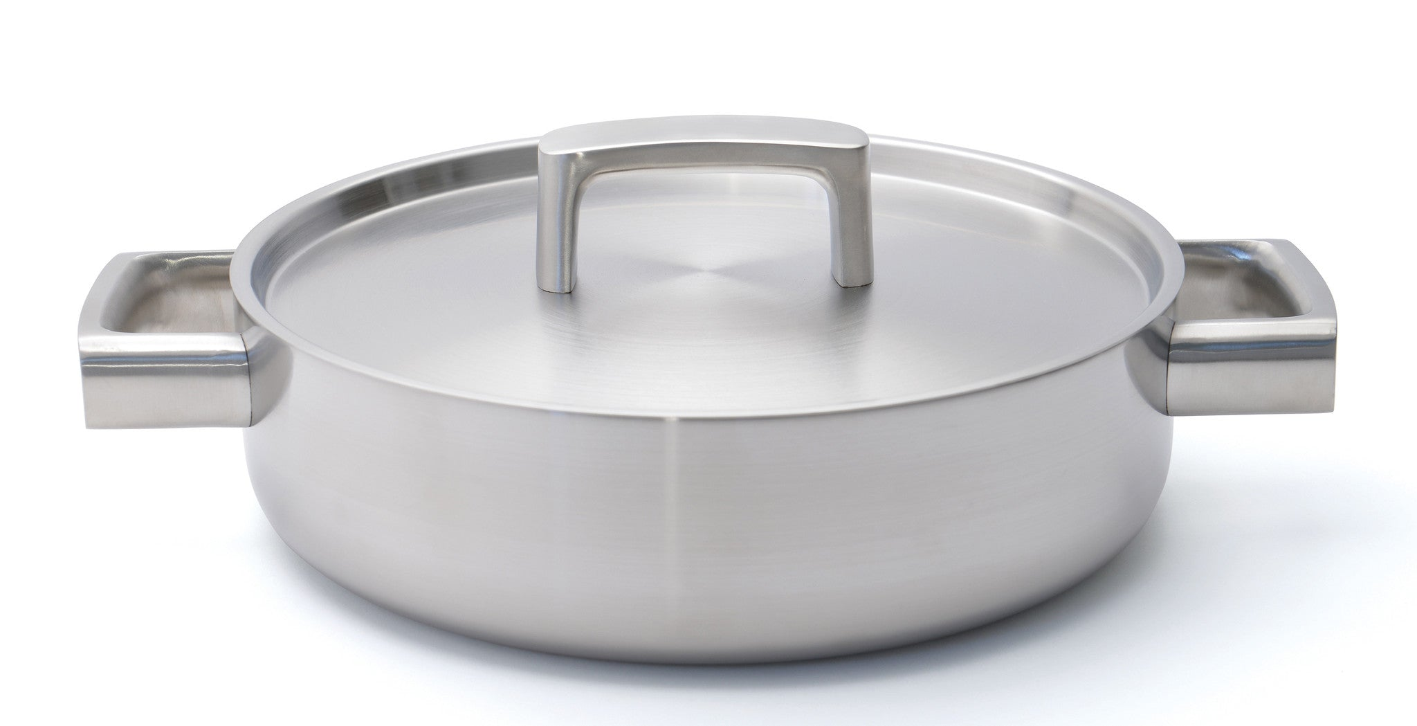 Ron 5-ply 24cm Stainless Steel Sauteuse with Lid