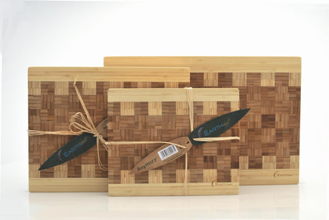 Earthchef Acadian Small Bamboo Chopping Board